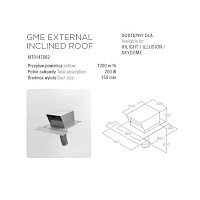 ELICA GME EXTERNAL INCLINED ROOF