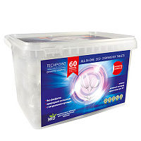 TechPoint Таблетки для ПММ All-IN-ONE ECO-DISHWASHER TABLETS (20грамм) 60 штук, арт. 9987